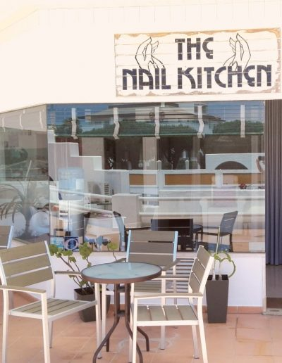 The nail kitchen outside